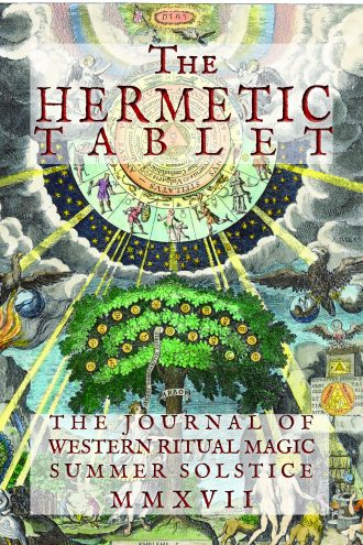 The paperback Hermetic Tablet has been released